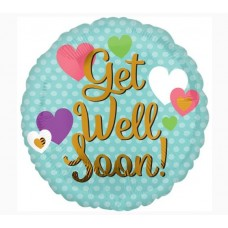 Get Well Soon Balloon (Helium-filled)
