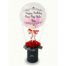 Red Roses Bloom Box