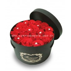 Round Red Roses