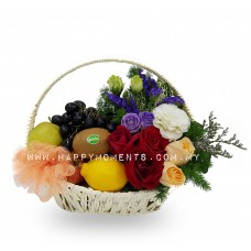 Cheerful Fruit Basket