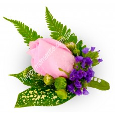Single Pink Corsage