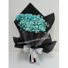 Baby Breath (Black Wrap)